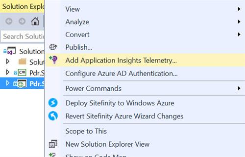 Add Application Insights